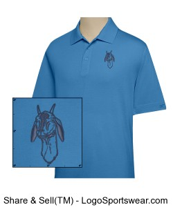 CB DryTec Championship Polo for Men Big and Tall Design Zoom